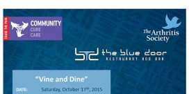Vine & Dine Fundraiser for Arthritis Society