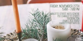 Charlotte Street Arts Centre Holiday Open House & Exhibition Opening