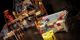 Kaitlin Hickey's Set Design: The Quilted Cottage (TNB Young Company 2016)