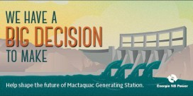 Mactaquac Conversation Continues with Discussion Paper, Community Sessions