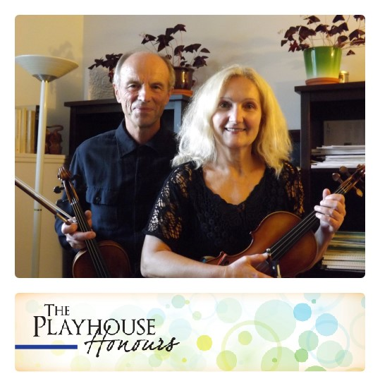 String performers and teachers Hrvoje and Aida Tisler, 2015 recipients of The Playhouse Honours