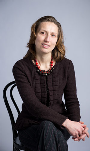 Natalia Stakhanova, professor of computer science and NB Research Chair in Cyber Security