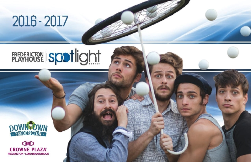 Fredericton Playhouse 2016-2017 Spotlight Series Announced