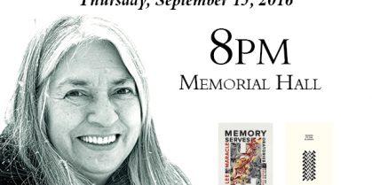 UNB Reading Series Presents Lee Maracle