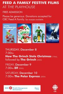 Feed-A-Family-Festive-Films-FREDERICTON-PLAYHOUSE