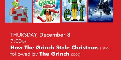 """""""Feed a Family Festive Films"""" at The Fredericton Playhouse"""