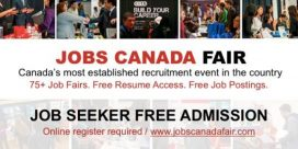 Fredericton Job Fair – November 22nd, 2018 at the Crowne Plaza Fredericton-Lord Beaverbrook (Fredericton, New Brunswick)