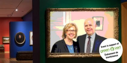 A Night at the Beaverbrook Art Gallery with David and Elizabeth