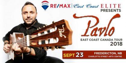 Pavlo: East Coast Canada Tour – Fredericton, New Brunswick