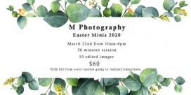 Easter Mini with M Photography Fundraiser for Autism Connections Fredericton
