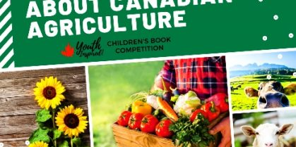 Youth Inspired! Children's Book Competition through CAFE – Canadian Association of Fairs and Exhibitions