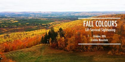 FALL COLOURS Lift Serviced Sightseeing