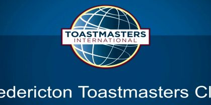 Fredericton Toastmasters Club Meeting
