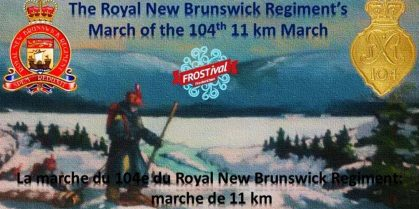 The Royal New Brunswick Regiment's March of the 104th: 11km March