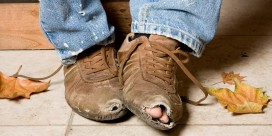 Local initiative seeks footwear for the homeless
