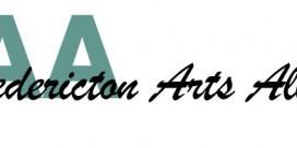 Fredericton Arts Alliance AGM & Membership Renewal