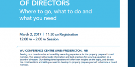 """How to Get on a Board of Directors"" Event"