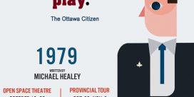 "Theatre New Brunswick (TNB) 2019-2020 Season Opening Show ""1979"" – Fredericton"